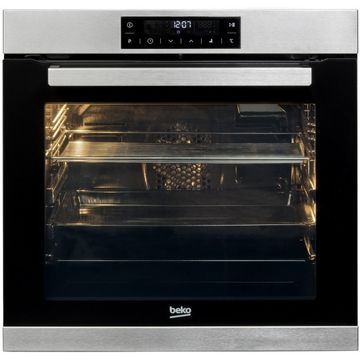 Cuptor incorporabil Beko BIM32400XPS, 14 functii, Afisaj LED - Touch Control, Timer, 3D cooking, Clasa A, Inox