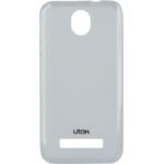 Husa Utok 450Q Silicon Case, Alb transparent