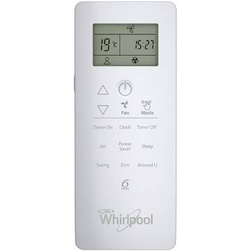 Aer conditionat Whirlpool SPIW 418 Inverter, 18000 BTU, Clasa A++, Al 6-lea Simt, Display, Filtru HD + HEPA, Auto Restart, Dezumidificare