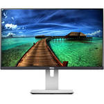 Monitor Dell U2414H, 23.8, Wide, Full HD, DVI, HDMI, DisplayPort, Argintiu