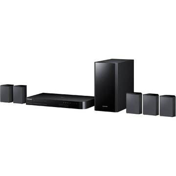 Sistem home cinema Samsung HT-J4500/EN, Blu-ray, Bluetooth, 500 W, Negru