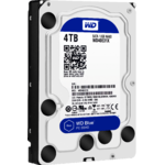 Hard Disk Western Digital Blue 4TB, 8GB SSD, 3.5 inch, 5400 rpm, SATA 3