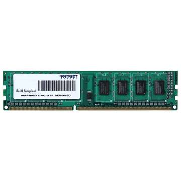 Memorie Patriot PSD34G160081, 4GB DIMM, DDR3, 1600MHz, CL11, 1.5V