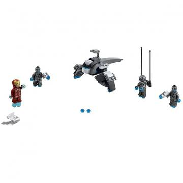 Set constructie Lego Super Heroes Marvel Iron Man contra Ultron