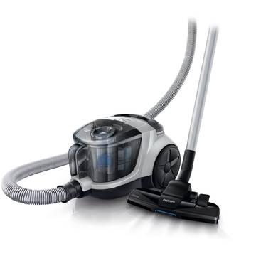 Aspirator Philips Power Pro Compact FC8476/92, 1.5 l, Tub telescopic metalic, 1500 W, EPA 10, Gri