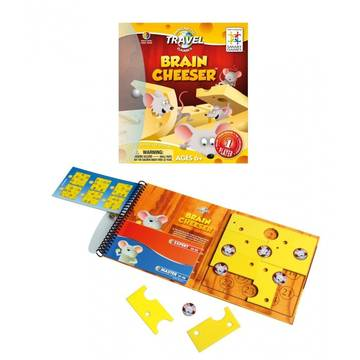 Joc Smart Games Brain Cheeser, 6 ani +