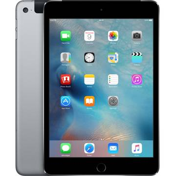 Tableta Apple iPad mini 4, Cellular, 16 GB, 4G, Gri