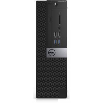 Sistem desktop Dell OptiPlex 5040 SFF, Intel Core i7-6700, 8 GB, 500 GB, Linux