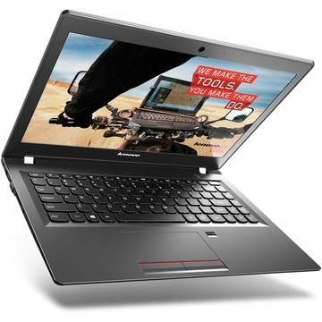 Laptop Lenovo E31-80, 13.3'', FullHD, Intel® Core™ i7-6500U, 4GB, 256GB SSD, GMA HD 520, FingerPrint Reader, Win 10 Pro, Negru, 80MX00SGRI