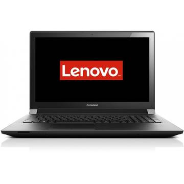 Laptop Lenovo B50-80, 15.6'', HD, Intel® Core™ i3-5005U, 4GB, 500GB + 8GB SSH, Radeon R5 M330 2GB, FingerPrint Reader, FreeDos, Negru, 80EW05EQRI