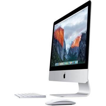 "Sistem All in One Apple iMac, Intel® Quad Core™ i5 3.20GHz, Broadwell, 27"", Retina 5K, 8GB, 1TB, AMD R9 M380 2GB, OS X El Capitan, ROM KB, MK462RO/A"