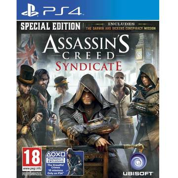 Joc Ubisoft Assassins Creed Syndicate Special Edition pentru Playstation 4