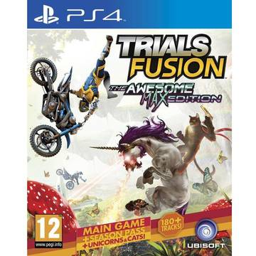 Joc Ubisoft Trials Fusion: The Awesome Max Edition pentru PlayStation 4