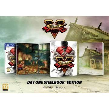 Joc Capcom Street Fighter V Steelbook Edition pentru PS4