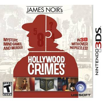 Joc Ubisoft James Noirs Hollywood Crimes pentru Nintendo 3DS