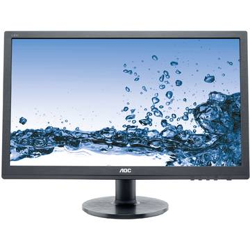 Monitor AOC E2460SD2, 24 inch, 1 ms, Full HD, Negru