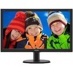 Monitor Philips 240V5QDSB/00, 23.8 inch, 5 ms, Full HD, Negru