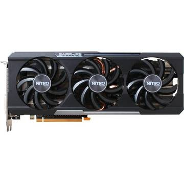 Placa video Sapphire Radeon R9 390 NITRO Backplate, 8 GB DDR5, 512 bit