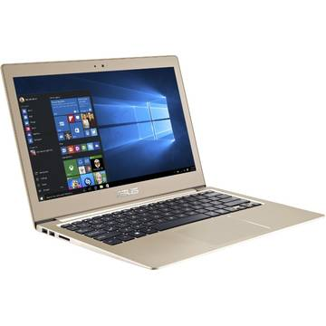 Laptop Asus UX303UB-R4045T, Intel Core i5-6200U, 8 GB, 128 GB SSD, Microsoft Windows 10, Auriu