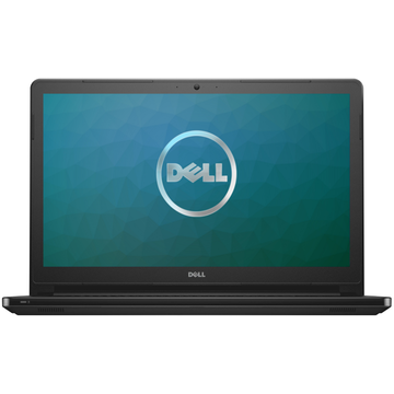 Laptop Dell DI5559I545UMW10, Intel Core i5-6260U, 4 GB, 500 GB, Microsoft Windows 10 Home, Negru