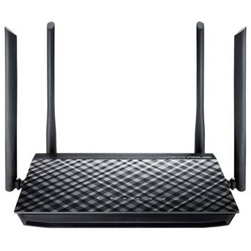 Router Asus RT-AC1200G+, 802.11 a/b/g/n/ac, 2.4 / 5 GHz, 300 / 867 Mbps