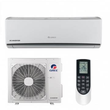 Aer conditionat Gree GWH09QB-K3DNA1C Inverter, 9000 BTU, Kit instalare inclus, Clasa A++, Alb