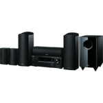 Sistem home cinema Onkyo HT-S5805, 5.1.2 canale, 500 W, HDMI, Bluetooth, Negru