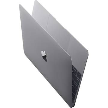 Laptop Apple MLH82ZE/A, Intel Core M, 8 GB, 512 GB SSD, Mac OS X El Capitan, Gri