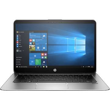 Laptop HP X2F04EA, Intel Core M7-6Y75, 16 GB, 512 GB SSD, Microsoft Windows 10 Pro, Argintiu