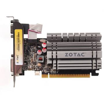 Placa video Zotac GeForce GT 730 Zone Edition, 4 GB DDR3, 64 bit low profile bracket