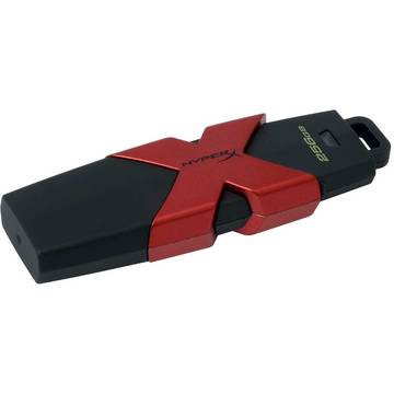 Memory stick Kingston SAVAGE, 512 GB, USB 3.0, Negru / Rosu