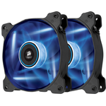 Cooler Corsair AF120, 120 mm, 1500 RPM, LED Albastru, Twin Pack