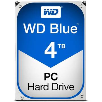 Hard Disk WD Blue, 4 TB, 5400 RPM, 64 MB, SATA 3