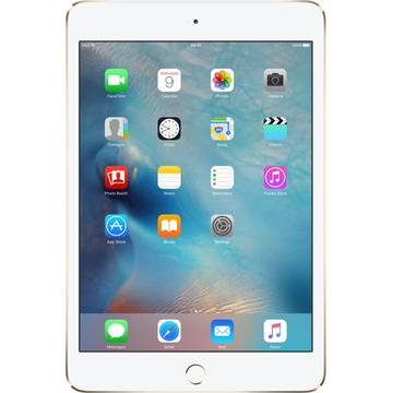Tableta Apple iPad Mini 4, 2 GB RAM, 64 GB, 4G, Auriu