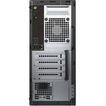 Sistem desktop Dell OptiPlex 3040 MT, Intel Core i5-6500, 4 GB, 500 GB, Microsoft Windows 10, Negru
