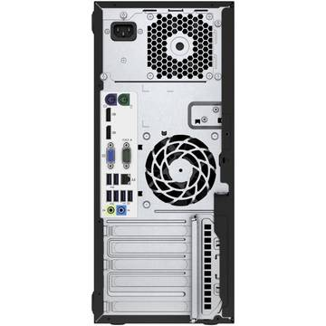 Sistem desktop HP EliteDesk 800 G2 Tower, Intel Core i3-6100, 4 GB, 500 GB, Microsoft Windows 7 Pro + Microsoft Windows 10 Pro, Negru