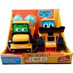 GOLDEN BEAR Jucarie Golden Bear Primul meu JCB, Press' n Go Twin Pack