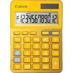 Calculator de birou Canon BE9490B006AA, LCD, Galben