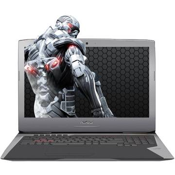 Laptop Asus ROG G752VT, Intel Core i7-6700HQ, 8 GB, 1 TB, Microsoft Windows 10 Home, Gri