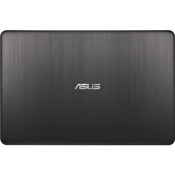Laptop Asus X540LJ, Intel Core i3-4005U, 4 GB, 1 TB, Microsoft Windows 10 Home, Negru / Maro