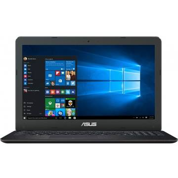Laptop Asus X556UB, Intel Core i5-6200U, 4 GB, 1 TB, Microsoft Windows 10 Home, Negru / Maro