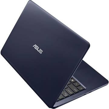 Laptop Asus EeeBook E202SA, Intel Celeron N3050, 2 GB, 500 GB, Microsoft Windows 10 Home, Albastru