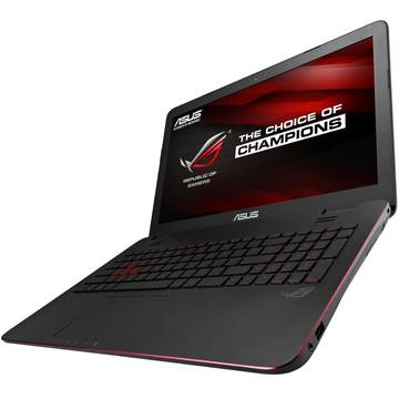 Laptop Asus ROG G771JW, Intel Core i7-4720HQ, 8 GB, 1 TB + 128 GB SSD, Microsoft Windows 10 Home, Negru