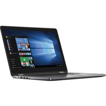 Laptop Dell Inspiron 7568, Intel Core i7-6500U, 8 GB, 1 TB, Microsoft Windows 10 Home, Negru