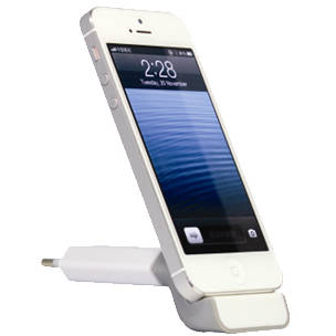 Stand incarcare MyDock MY-A009EU, iPhone / iPod, Alb / Gri