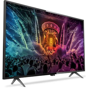 Televizor Philips PUH6101/88, 123 cm, 4K UHD, Smart TV, Negru