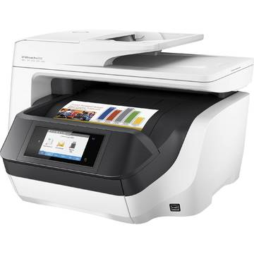 Multifunctional HP Officejet Pro 8720, Inkjet, Color, A4, Alb