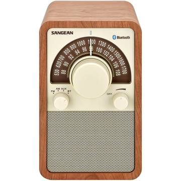Radio Sangean WR-15 BT Walnut, FM/AM, Bluetooth, Maro