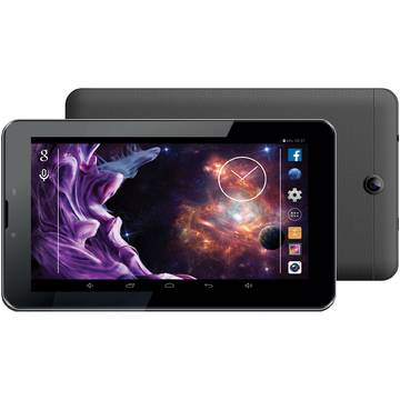 Tableta eSTAR GO IPS 3G BLK, 7 inch, Quad-Core 1.2GHz, 1GB RAM, 8GB, Neagra