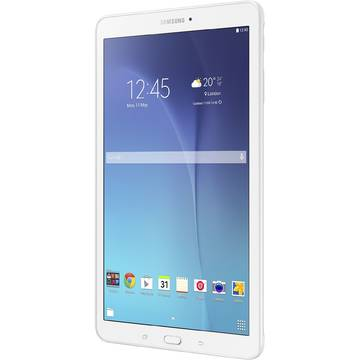 Tableta Samsung Galaxy Tab E T560, 9.6 inch, Quad-Core 1.3 GHz, 1.5GB RAM, 8GB, Alba